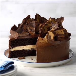 Rich Chocolate Peanut Butter Cake Recipe