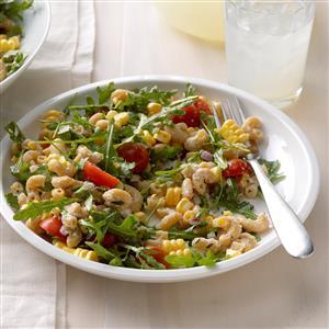 Ricotta, Tomato & Corn Pasta Recipe