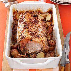Roast Pork and Potatoes Recipe