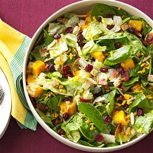 Roasted Butternut Tossed Salad Recipe