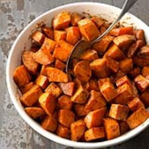 Roasted Honey Sweet Potatoes Recipe