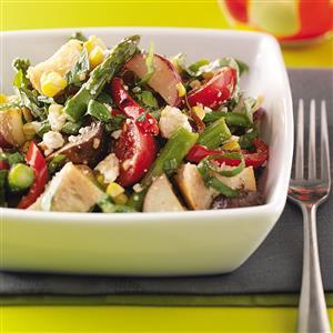 Roasted Vegetable Salad Recipe