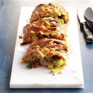 Roasted Veggie Strudel Recipe