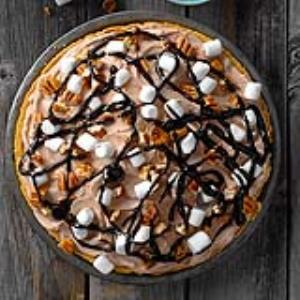 Rocky Road Freezer Pie Recipe
