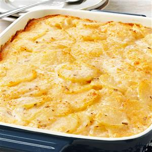 Rosemary Au Gratin Potatoes Recipe