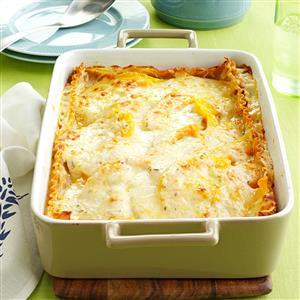 Rosemary Butternut Squash Lasagna Recipe