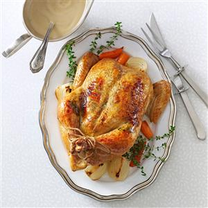 Rosemary-Orange Roasted Chicken Recipe