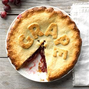 Ruby Grape Pie Recipe