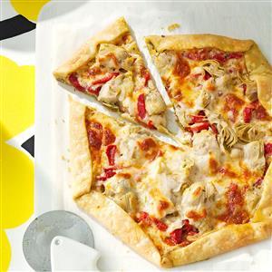Rustic Antipasto Tart Recipe