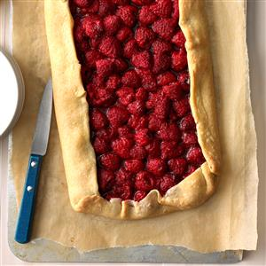 Rustic Chocolate Raspberry Tart Recipe