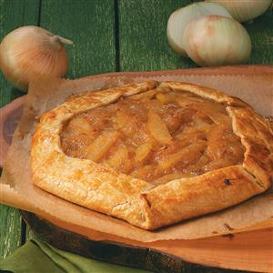 Rustic Fig, Onion & Pear Tart Recipe