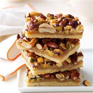 Rustic Nut Bars Recipe