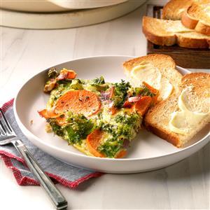 Rustic Vegetable Frittata Recipe