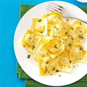 Sage & Browned Butter Ravioli Recipe