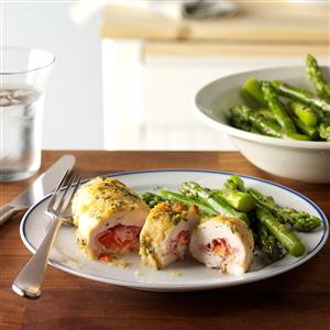 Sage Chicken Cordon Bleu Recipe
