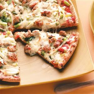 Saturday Night Pizza Recipe