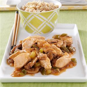 Saucy Chicken Strips Recipe