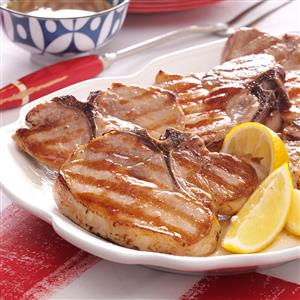 Saucy Grilled Pork Chops Recipe