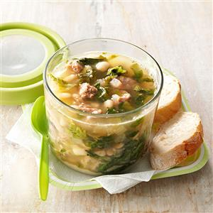 Sausage & Cannellini Bean Soup Recipe