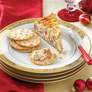 Sausage Cheesecake Appetizer