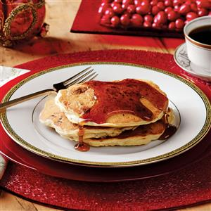 Sausage Cranberry Pancakes Recipe