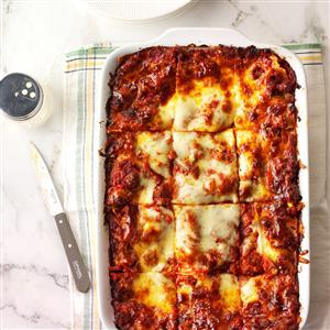 Sausage Lasagna Recipe