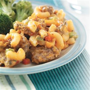 Sausage Macaroni Skillet Recipe