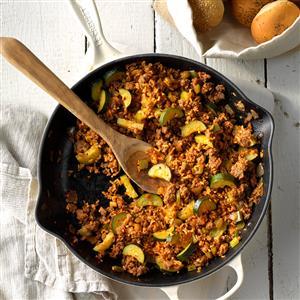 Sausage Rice Skillet Recipe