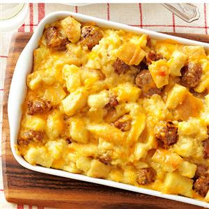 recipe: breakfast casserole with stuffing [17]