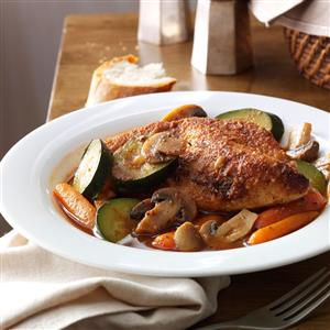Savory Braised Chicken with Vegetables Recipe