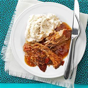 Savory Mustard Pork Roast Recipe