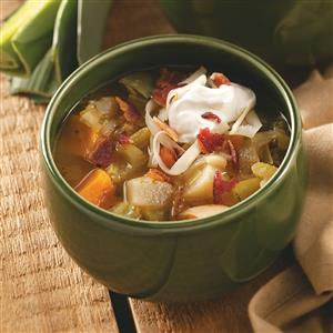 Savory Root Vegetable Soup Recipe