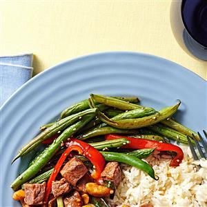 Savory Sesame Green Beans Recipe