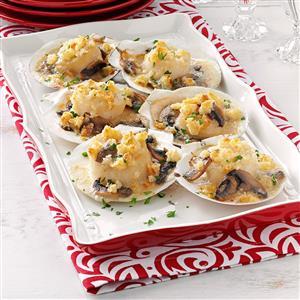 Scallops in Shells Recipe
