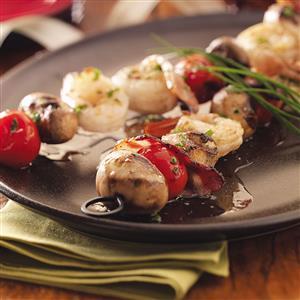 Seafood Brochettes Recipe