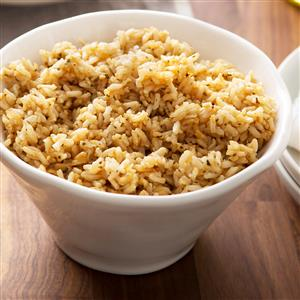 Seasoned Brown Rice Recipe