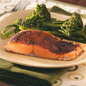Sensational Spiced Salmon Recipe