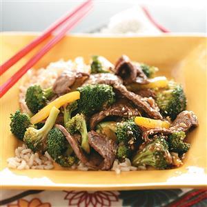 Sesame Beef Stir-Fry Recipe