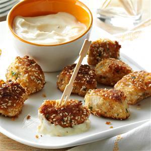 Sesame chicken bites recipe taste of home sesame chicken bites recipe forumfinder Gallery