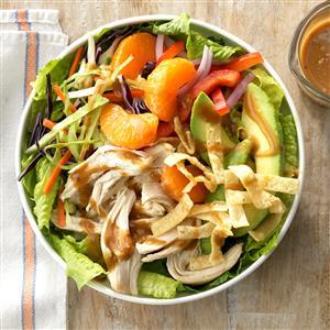 Sesame Chicken Slaw Salad Recipe