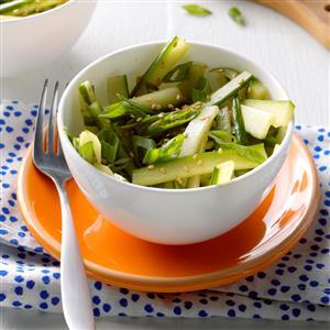 Sesame-Ginger Cucumber Salad Recipe