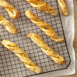 Bread Week: Sesame Onion Breadsticks