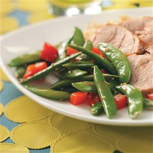 Sesame Snap Peas Recipe