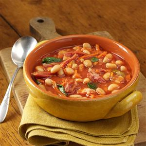 Shaker Bean Soup Recipe