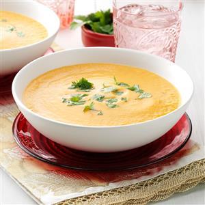 Sherried Sweet Potato Soup Recipe