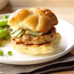 Shiitake-Chicken Sliders Recipe