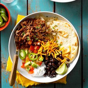 Shredded Beef Burrito Filling Recipe