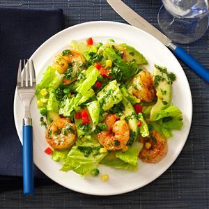 Shrimp & Avocado Salads Recipe