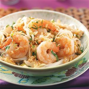 Shrimp Pad Thai for Two Recipe