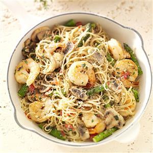 Shrimp Pasta Primavera Recipe
